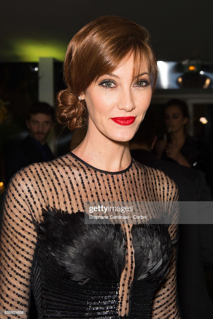 Mareva Galanter attends the Sidaction Gala Dinner at Pavillon d'Armenonville, in Paris.