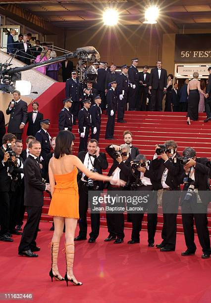 Mareva Galanter during 2003 Cannes Film Festival Atmosphere in Cannes France