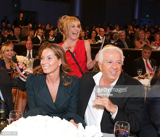 Mareva Georges Marciano and fashion designer Paul Marciano attend the Friends Of The Israel Defense Forces 2014 Western Region Gala at The Beverly...