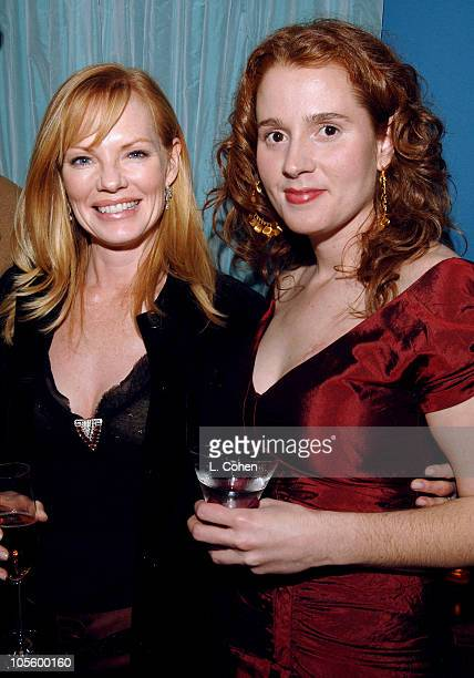 Marg Helgenberger and Alexandra Balahoutis during Strange Invisible Perfume Launch Party December 7 2005 at Strange Invisible Perfumes in Venice...
