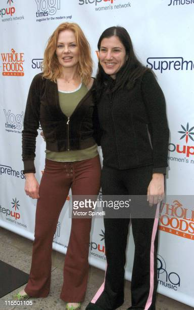 Marg Helgenberger and 'Step Up Womens Network' founder Kaye Popofsky