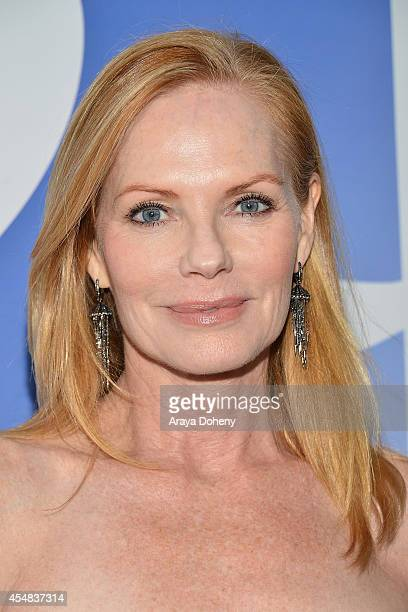 Marg Helgenberger attend the Project Angel Food's 25th Anniversary Angel Awards 2014 honoring Aileen Getty with the Inaugural Elizabeth Taylor...