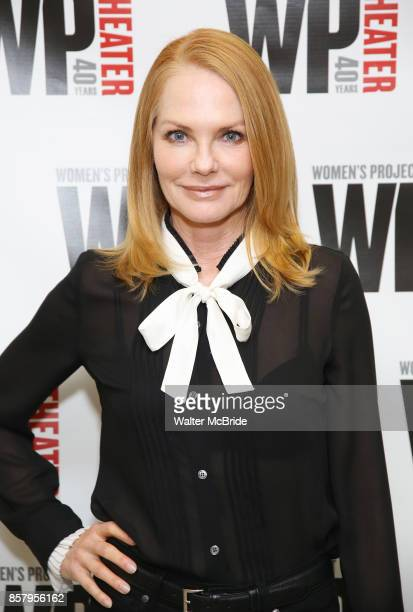 Marg Helgenberger attends the WP Theater production of 'What We're Up Against' Photo Calll at WP Theater Office on October 5 2017 in New York City