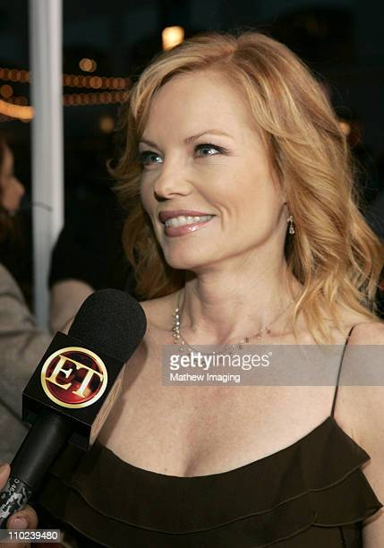 Marg Helgenberger during 31st Annual People's Choice Awards ET and The Insider Arrivals at Pasadena Civic Auditorium in Pasadena California United...