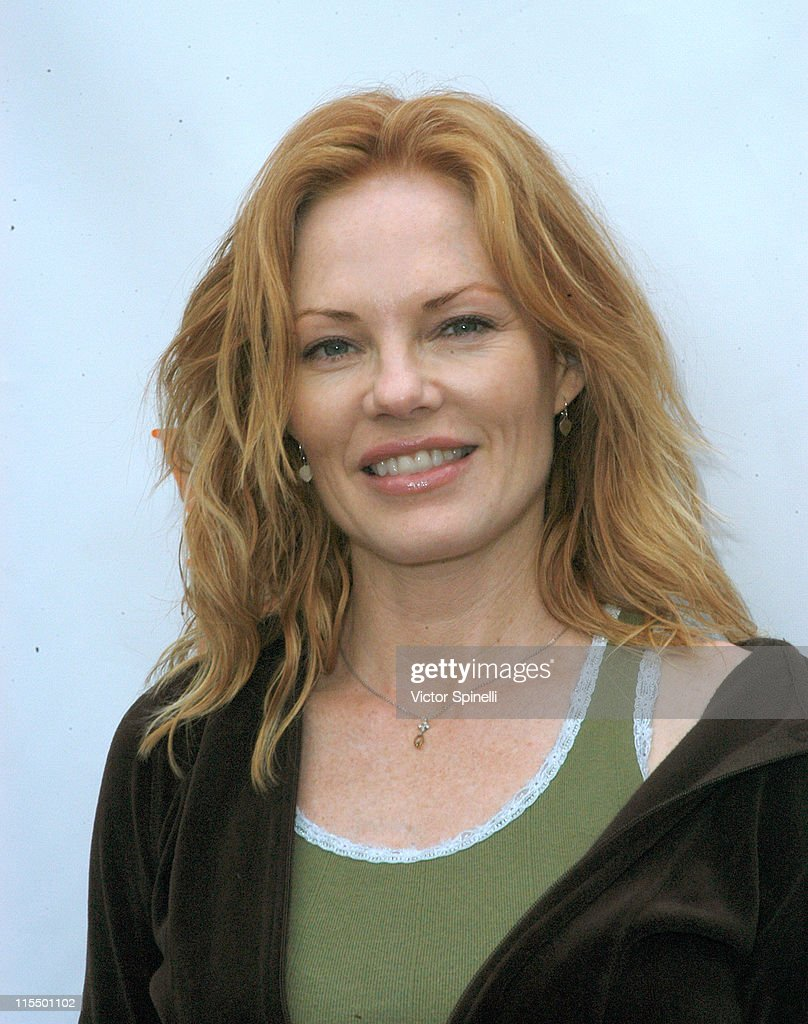Marg Helgenberger during 3rd Annual 'Step-up for Yoga & Health' Charity Festival at Bergamont Station in Santa Monica, California, United States.