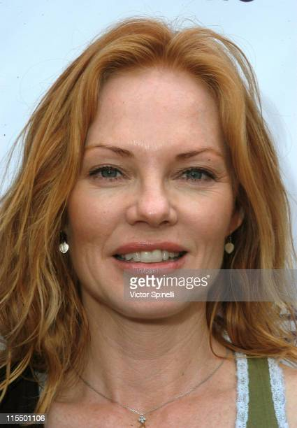 Marg Helgenberger during 3rd Annual 'Stepup for Yoga Health' Charity Festival at Bergamont Station in Santa Monica California United States