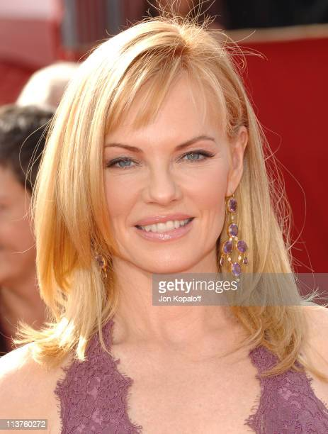 Marg Helgenberger during 57th Annual Primetime Emmy Awards Arrivals at The Shrine in Los Angeles California United States