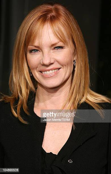 """Marg Helgenberger during """"American Dreamz"""" Los Angeles Premiere - Arrivals at ArcLight Hollywood in Hollywood, California, United States."""