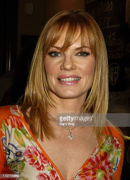Marg Helgenberger during Christie's and LA Confidential Magazine Host Highlights of the Personal Property of Marlon Brando at Christie's Los Angeles...