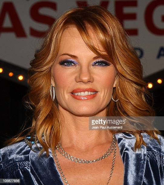 Marg Helgenberger during 'CSI' 100th Episode Celebration at Hanger 8 in Santa Monica California United States