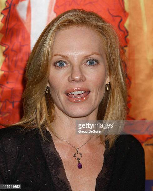 Marg Helgenberger during Hugh Hefner and Playboy Host Playboy's Fourth Annual Super Saturday Night - Arrivals at The House of Hospitality in San...