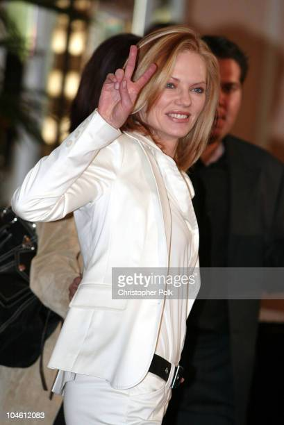 Marg Helgenberger during InStyle Sneak Peek at Red Carpet Fashion for the 2003 Awards Season at Beverly Hills Hotel in Beverly Hills, CA, United...