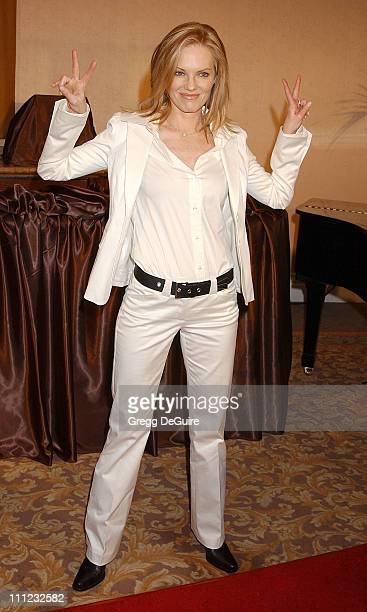 Marg Helgenberger during InStyle Sneak Peek at Red Carpet Fashion for the 2003 Awards Season at Beverly Hills Hotel in Beverly Hills, California,...