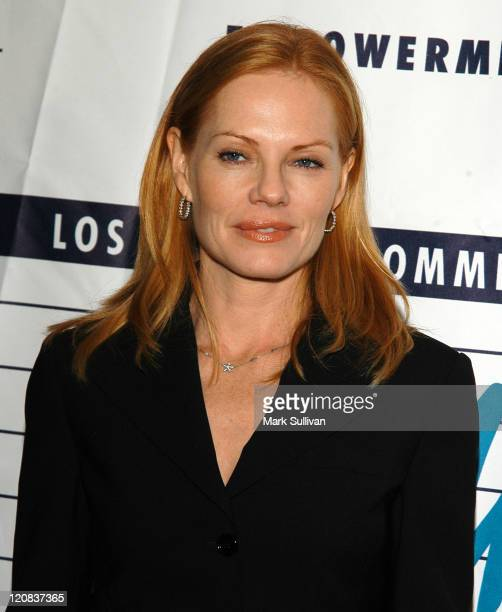 Marg Helgenberger during LACAAW's 32nd Annual Humanitarian Awards at Fairmont Miramar Hotel in Santa Monica California United States