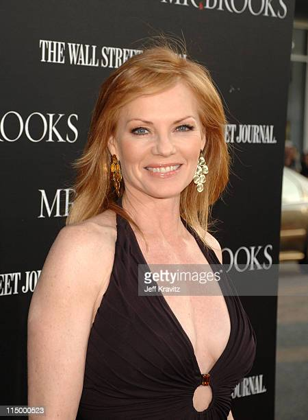 Marg Helgenberger during Mr Brooks Los Angeles Premiere Red Carpet at Grauman's Chinese Theater in Hollywood California United States