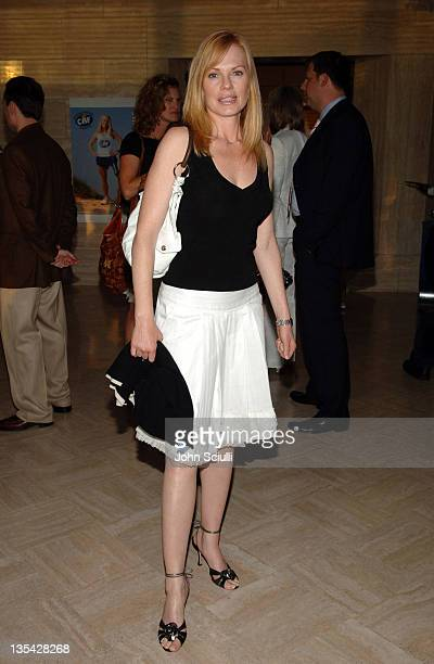 Marg Helgenberger during Over There Special Screening July 14 2005 at CAA Offices in Beverly Hills California United States