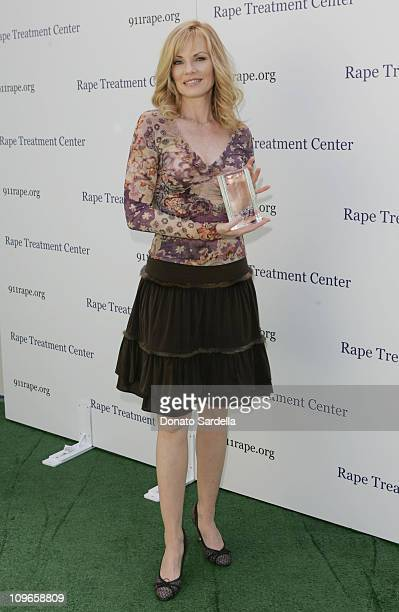 Marg Helgenberger during Rape Treatment Center Annual Benefit October 2 2005 at Private Residence in Beverly Hiils California United States