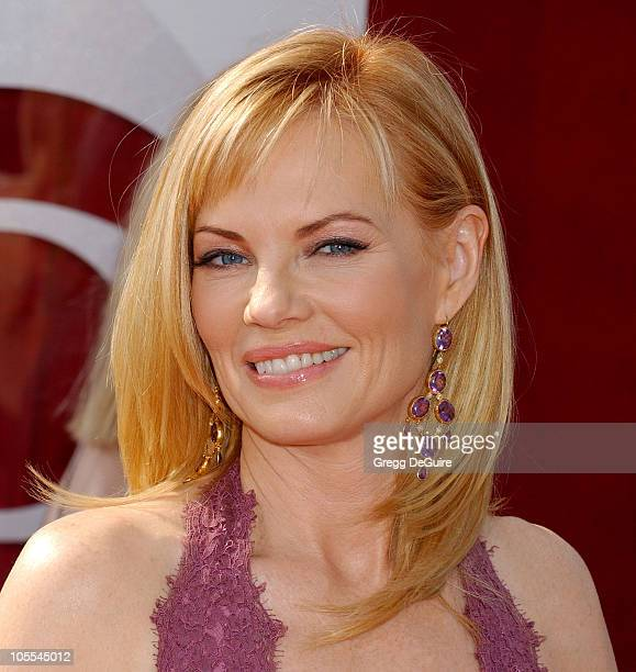 Marg Helgenberger during The 57th Annual Emmy Awards - Arrivals at Shrine Auditorium in Los Angeles, California, United States.