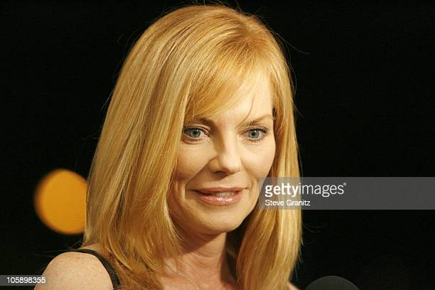 Marg Helgenberger presenter during 2006 Writers Guild Awards Press Room at Hollywood Palladium in Hollywood California United States