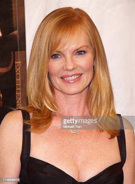 Marg Helgenberger, presenter during 2006 Writers Guild Awards - Press Room at The Hollywood Palladium in Hollywood, California, United States.