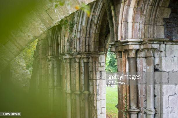 margam abbey port talbot - port talbot stock pictures, royalty-free photos & images