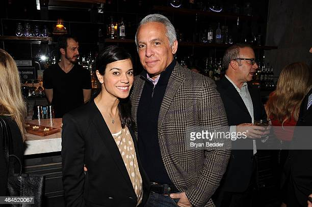 Margaret Anne Williams and Chairman of City Harvest Food Council Geoffrey Zakarian attends the City Harvest Food Council Cocktail Reception at...