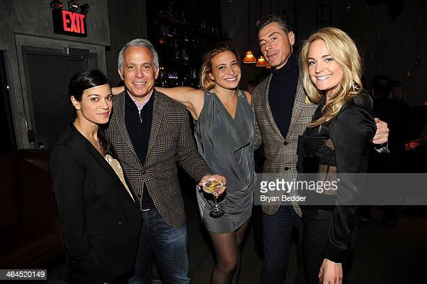 Margaret Anne Williams Chairman of City Harvest Food Council Geoffrey Zakarian Donatella Arpaia and Mauro Maccioni attend the City Harvest Food...