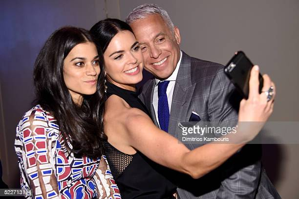 Margaret Anne Williams Katie Lee Joel and Geoffrey Zakarian attend the Food Bank Of New York City's Can Do Awards 2016 hosted by Mario Batali at...