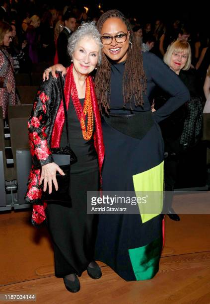 Margaret Atwood and Ava DuVernay attend the 2019 Glamour Women Of The Year Awards at Alice Tully Hall on November 11 2019 in New York City