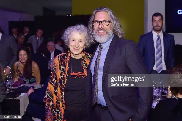 Margaret Atwood and Michael Chabon attend the Hammer Museum 16th Annual Gala in the Garden with generous support from South Coast Plaza at the Hammer...