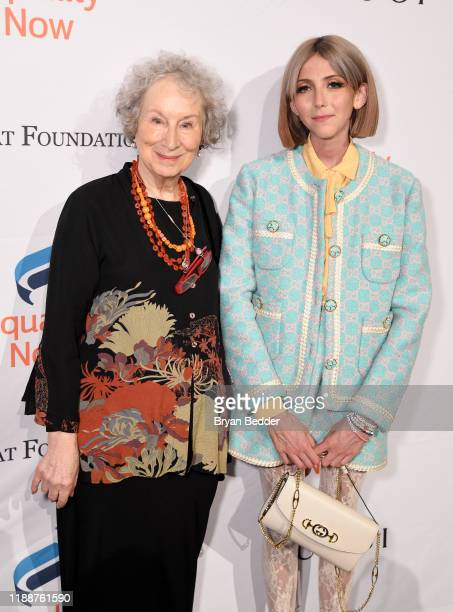 Margaret Atwood and Scarlett Curtis attend the annual Make Equality Reality Gala hosted by Equality Now on November 19 2019 in New York City