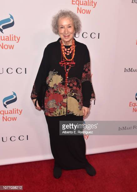 Margaret Atwood attends Equality Now's Annual Make Equality Reality Gala at The Beverly Hilton Hotel on December 03, 2018 in Beverly Hills,...