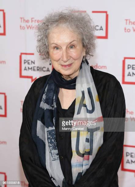 Margaret Atwood attends PEN America's 2018 Literary Gala at American Museum of Natural History on May 22 2018 in New York City
