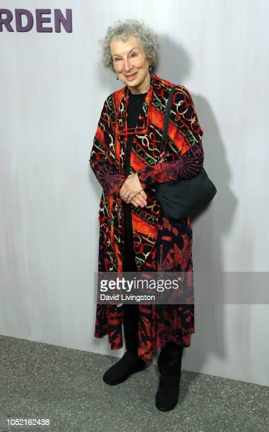 Margaret Atwood attends the 2018 Hammer Museum Gala In The Garden on October 14 2018 in Los Angeles California