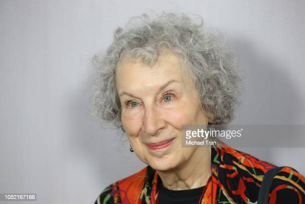 Margaret Atwood attends the 2018 Hammer Museum Gala In The Garden held on October 14 2018 in Los Angeles California