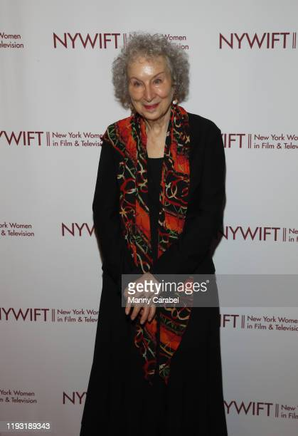 Margaret Atwood attends the 2019 40th Annual NYWIFT Muse Awards at New York Hilton Midtown on December 10 2019 in New York City