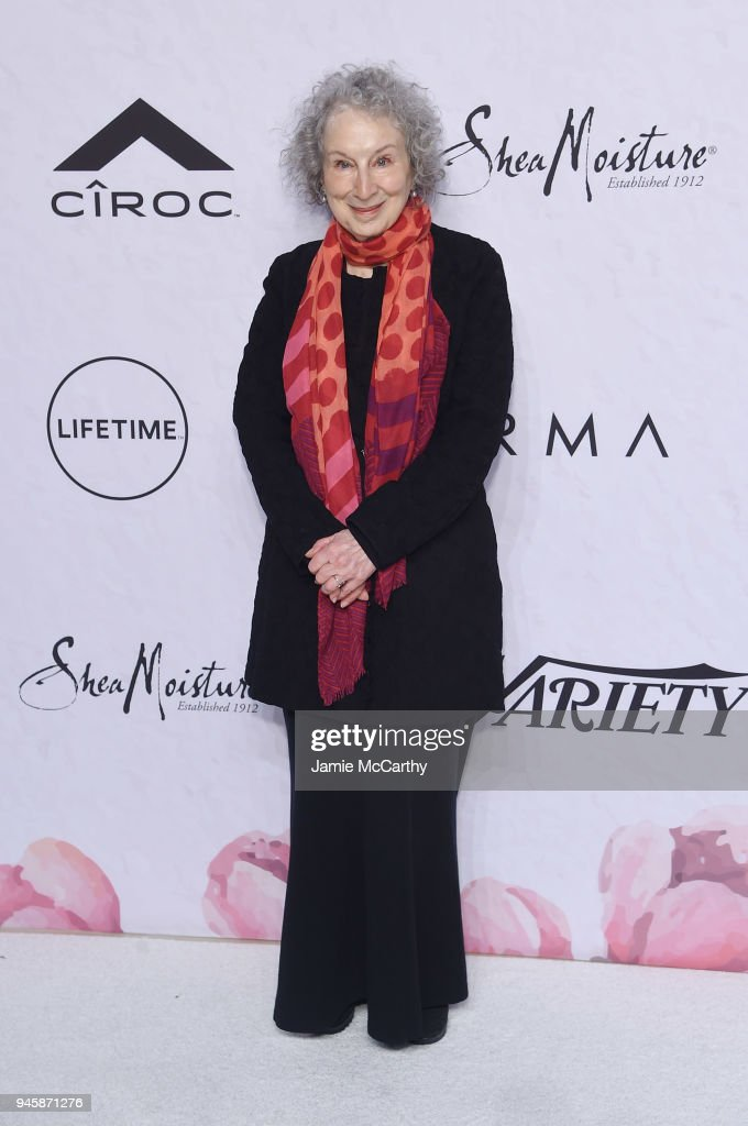 Margaret Atwood attends Variety's Power of Women: New York at Cipriani Wall Street on April 13, 2018 in New York City.