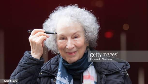Margaret Atwood, Canadian writer, Milan, Italy, 7th December 2017.