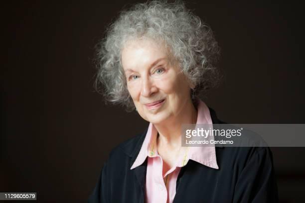 Margaret Atwood, Canadian writer, Paris, France, 20th September 2014.