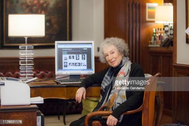 Margaret Atwood, Canadian writer, Roma, Italy, 7th December 2017.