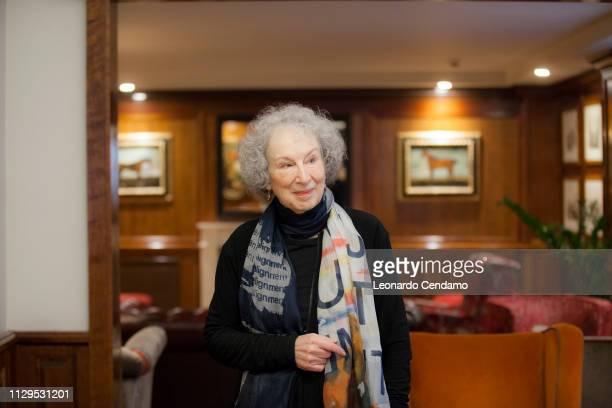 Margaret Atwood, Canadian writer, Torino-Turin, Italy, 7th December 2017.