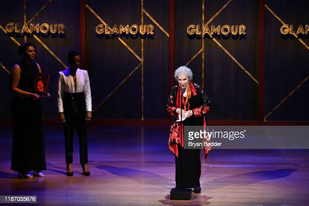 Margaret Atwood speaks onstage at the 2019 Glamour Women Of The Year Awards at Alice Tully Hall on November 11 2019 in New York City