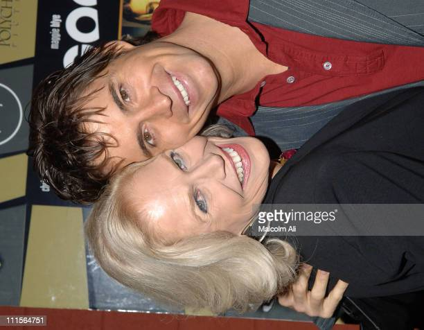 Margaret Blye and Chad McKnight during The Last Goodbye DVD Release Party at Club Ivar in Hollywood California United States