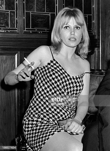 Margaret Blye attends the premiere party for Hombre on March 30 1967 at Act I Club in New York City