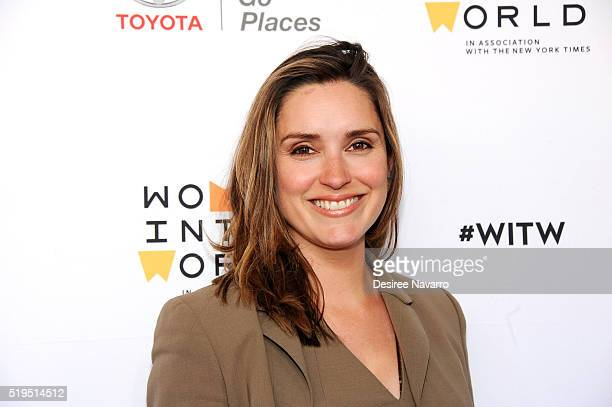 Margaret Brennan attends the 7th Annual Women In The World Summit Opening Night at David H Koch Theater at Lincoln Center on April 6 2016 in New York...