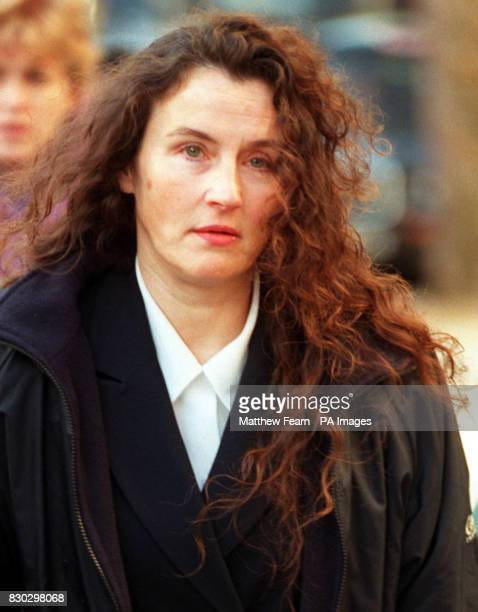 Margaret Briody arriving at the High Court in London where she sought damages to fund a surrogate child from a hospital she claimed was negligent...