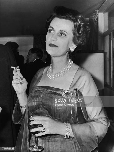 Margaret Campbell Duchess of Argyll at a Topic party September 1961