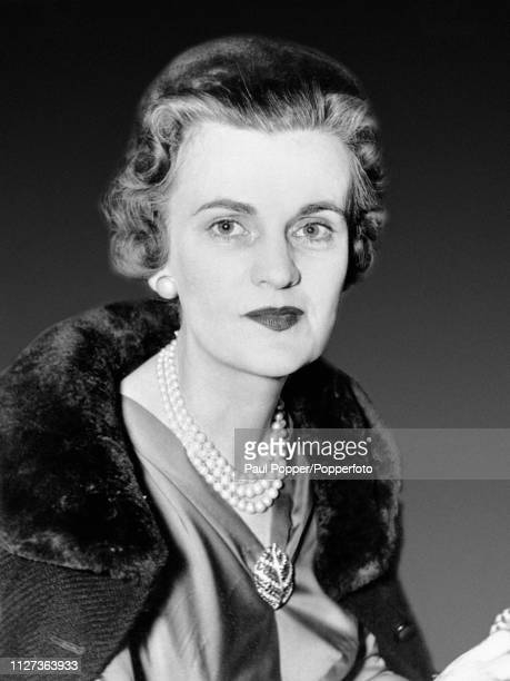 Margaret Campbell Duchess of Argyll third wife of Ian Campbell 11th Duke of Argyll pictured in England in March 1957