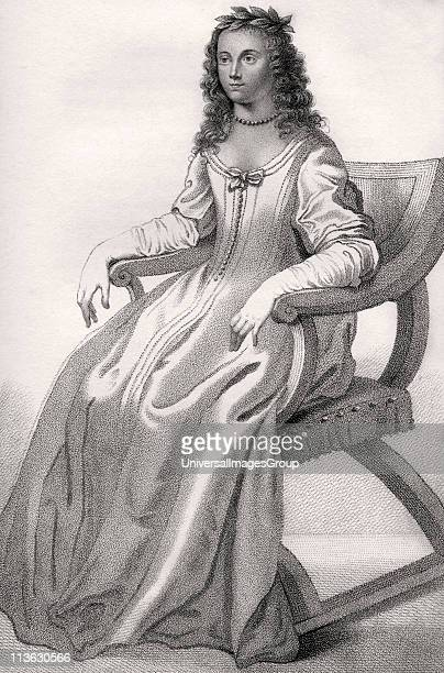 Margaret Cavendish nee Lucas Duchess of Newcastle 1623 n1673 English aristocrat and prolific writer From the book A catalogue of Royal and Noble...