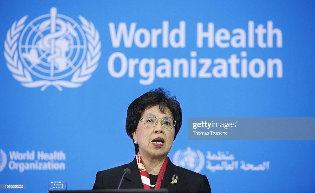 Margaret Chan... : News Photo
